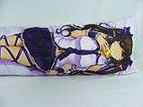 Подушка для обнимания 150 х 50 Канако обнимашка Дакимакура аниме ростовая односторонняя, фото 2