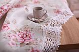 Скатерть Праздничная с Кружевом 110-150 3D «Beautiful» Прямоугольная №18, фото 2