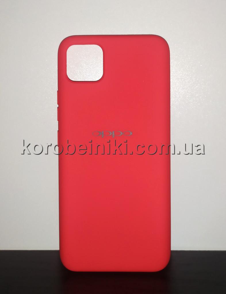 Чехол для  Realme C11 Красный / Бампер реалми c11