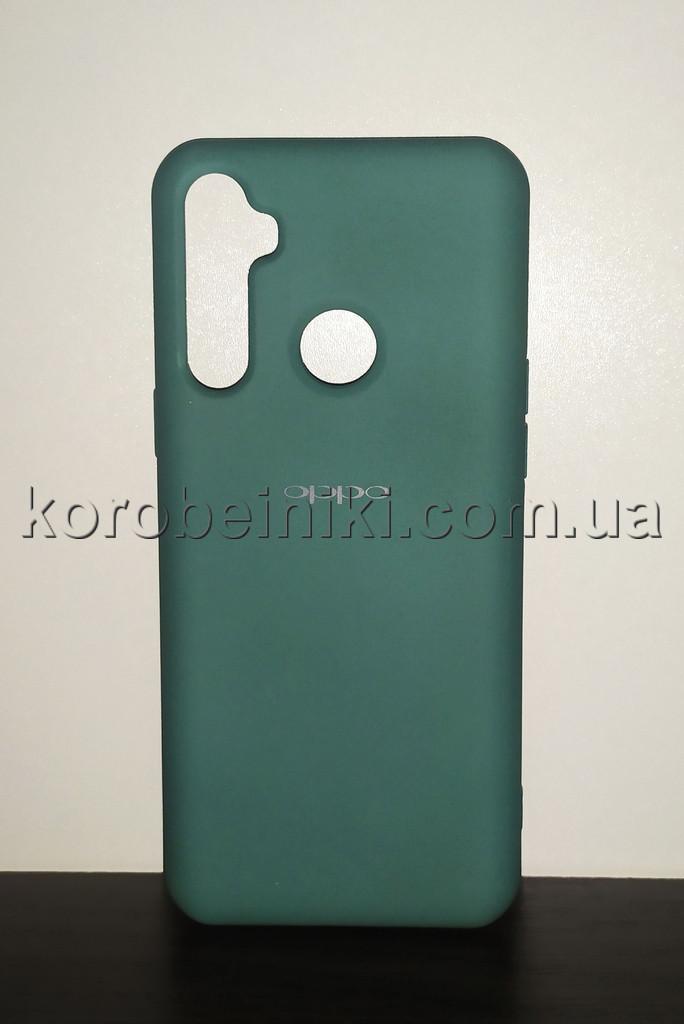 Чехол для  Realme 6i Темно-зеленый / Бампер реалми 6i