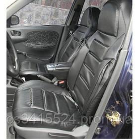 Автомобільні чохли в салон Chevrolet Aveo T200 2002-2008 ПІЛОТ (КОЖВІНІЛ)
