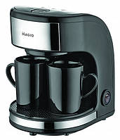 Капельная Кофеварка Magio Mg-348 450 Вт 2 Чашки В Комплекте, фото 1