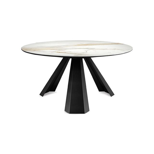 Мармуровий стіл круглий