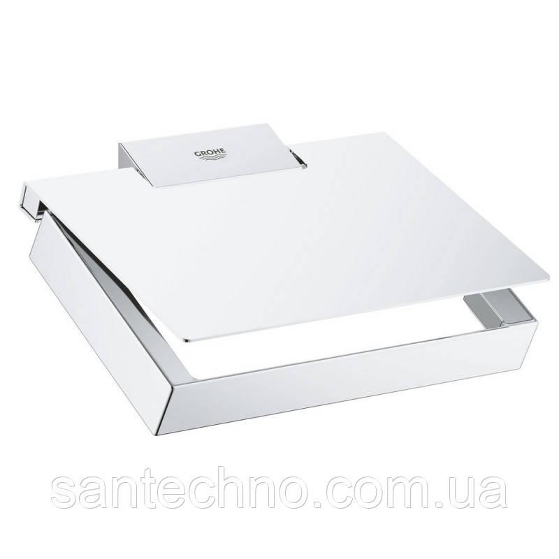 Тримач для туалетного паперу Grohe Selection Cube 40781000