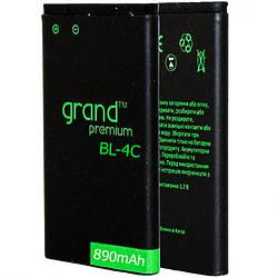 Аrкумулятор для Nokia BL-4C Grand Premium 890mAh