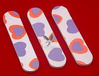 Мини-пилочка для ногтей 2-х сторонняя Сердце