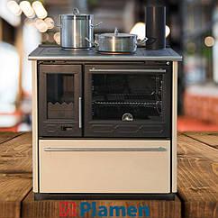 Отопительно-варочная печь PLAMEN 850 GLAS
