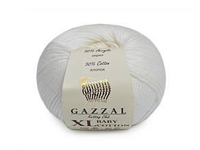 Gazzal XL Baby Cotton, Белый №3410