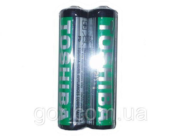 Батарейка (минипальчик) Тoshiba (ААА R3) (Б-2) (2 шт)