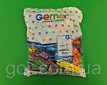 """Повітряні кульки Панч-Болл асорті пастель 18"""" (45 см) 100 шт (1 пач.)"""