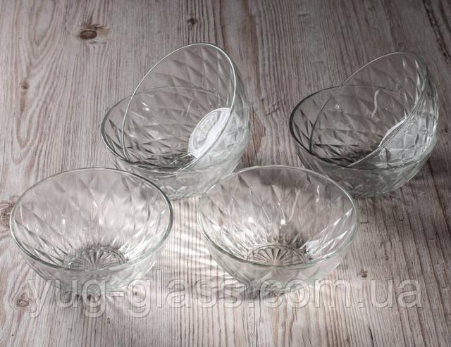 Набір салатниць скляних