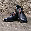 Туфлі Brogue сині з коричневим, фото 4