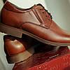 Коричневі туфлі Brogue, фото 4
