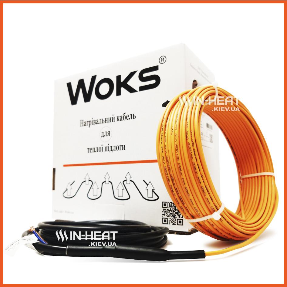 Woks 18 Одескабель (Украина)  / 12 м /  1.0 - 1.5 м²  Нагревающий кабель / Электрический Теплый пол под плитку