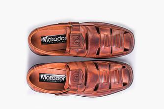 Босоніжки Чоловічі Matador коричневі