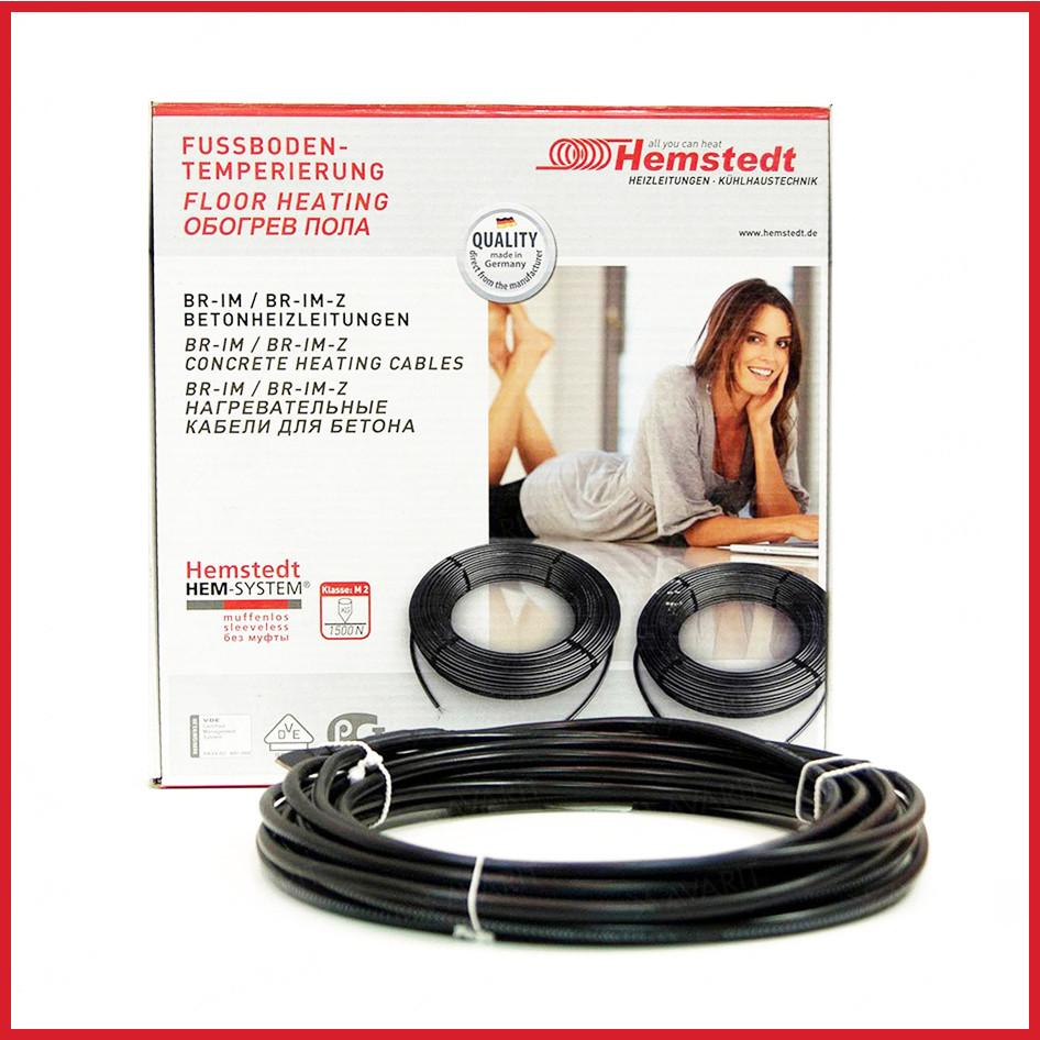 Теплый пол электрический Hemstedt DR 12.5 кабель под плитку / 36 м /  2.2 - 3.6 м² / Отопление квартиры
