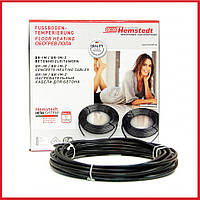 Електрична тепла підлога під плитку Hemstedt DR 12.5 / 120 м /  9.1 - 15.2 м² / тонкий гріючий кабель, фото 1