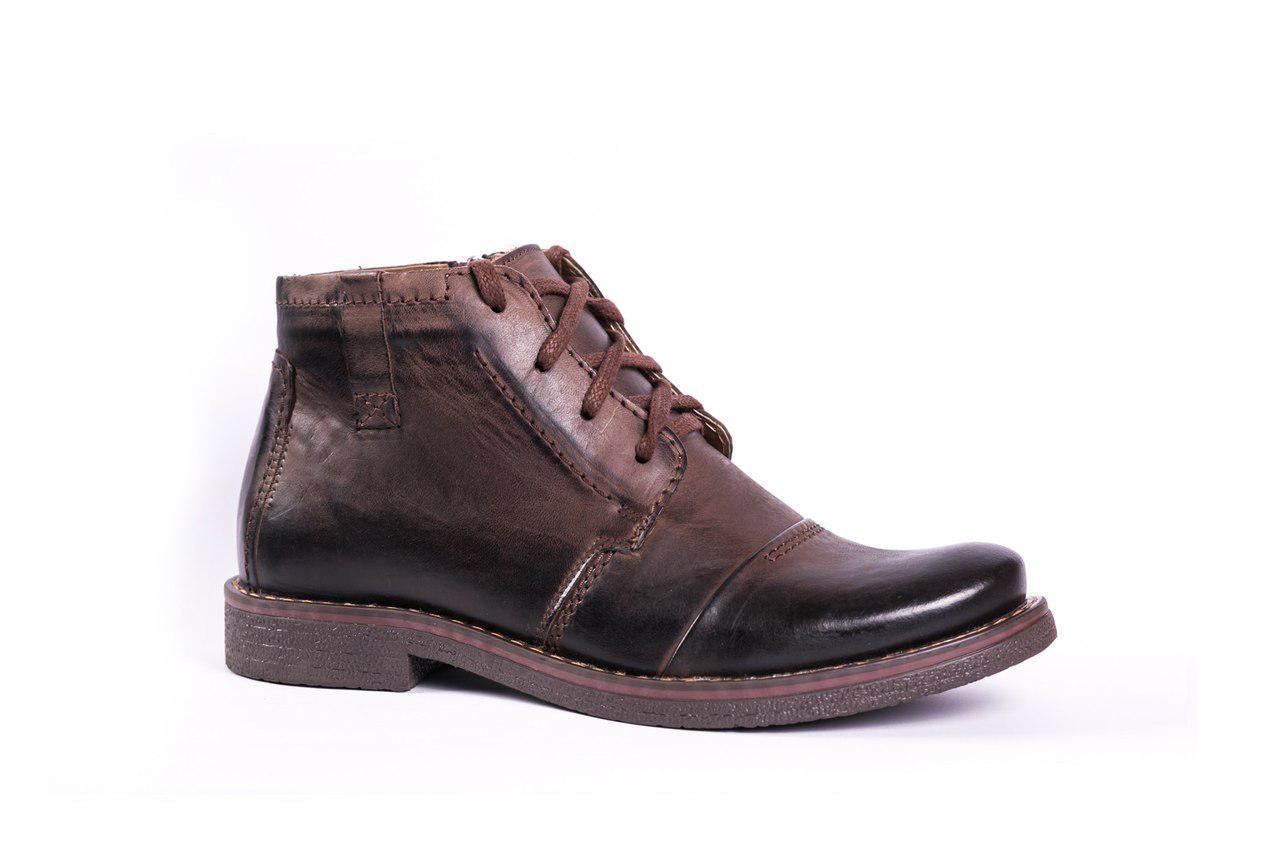 Зимові черевики коричневі Fado