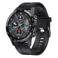Мужские умные наручные часы Smart Proton 2021 черные, стильные смарт часы сенсорные, многофункциональные