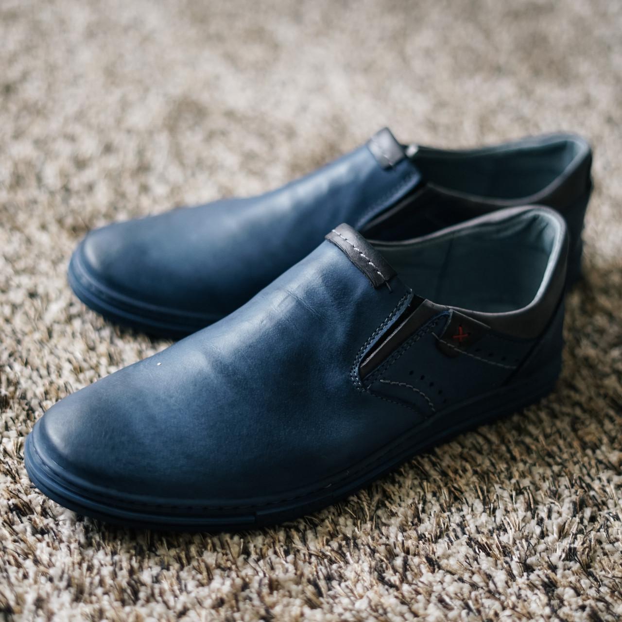 Чоловічі туфлі без каблука