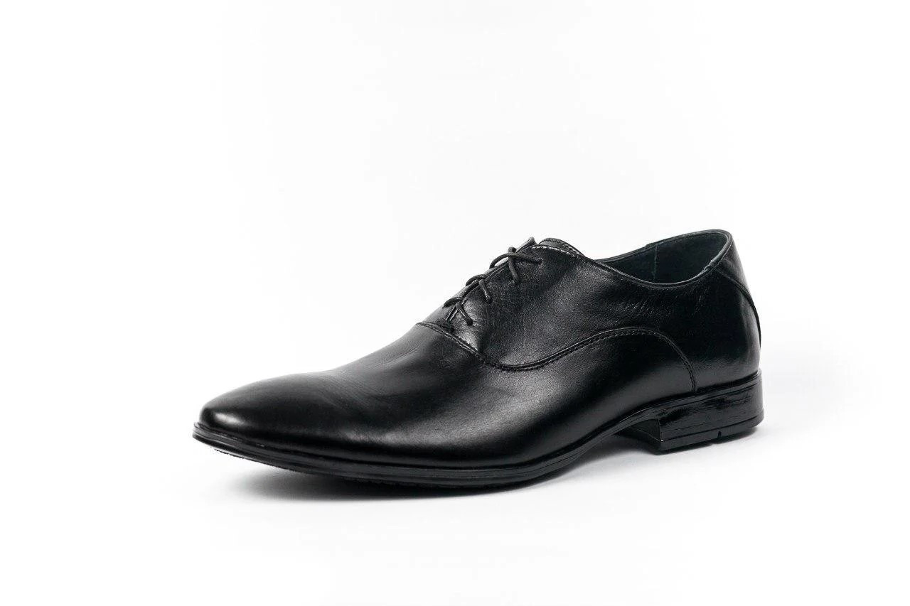 Туфлі оксфорди, чорні.
