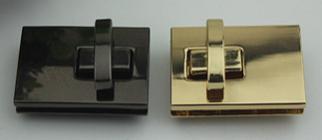 Барсеточный замок 6074 темный никель (мм/мм)