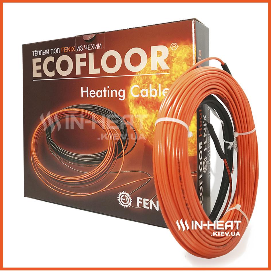 Нагревающий кабель FENIX ADSV 18 / 68.9 м /  5.5 - 8.3 м2 / под плитку толщина 3.5 мм / Греющий кабель Феникс