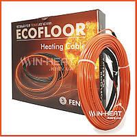 Нагревающий кабель FENIX ADSV 18 / 68.9 м /  5.5 - 8.3 м2 / под плитку толщина 3.5 мм / Греющий кабель Феникс, фото 1