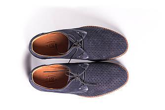 Туфлі літні VadRus нубук, сині