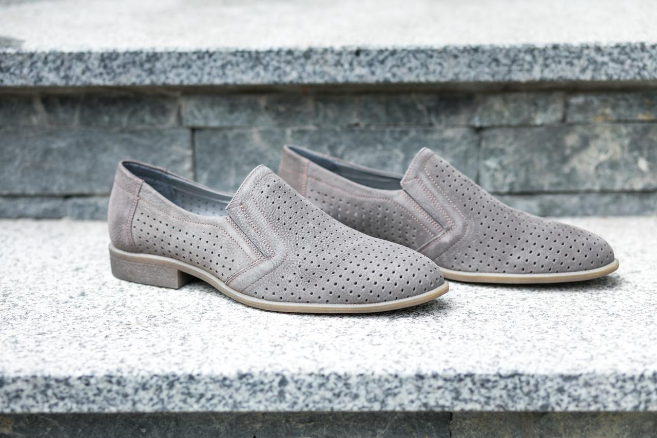 Туфлі літні ІКОС сірі - 45 розмір