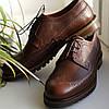Туфли броги коричневые  Ікос 322 - 45 размер, фото 3