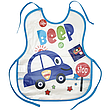 Слинявчик непромокальний для їжі з кишенею / м'який нагрудник для малюка з кишенею, фото 4