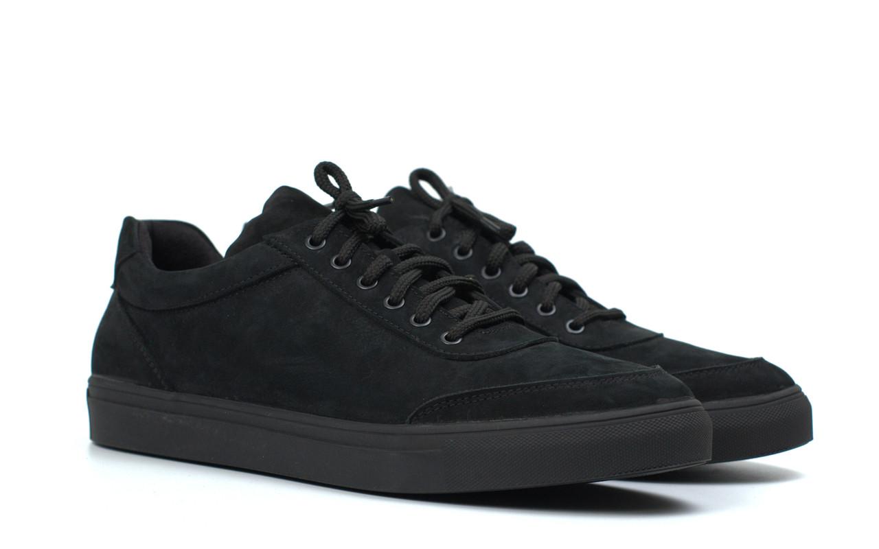 Кроссовки мужские из нубука демисезонные обувь больших размеров Rosso Avangard Ada Black Nub TPR BS