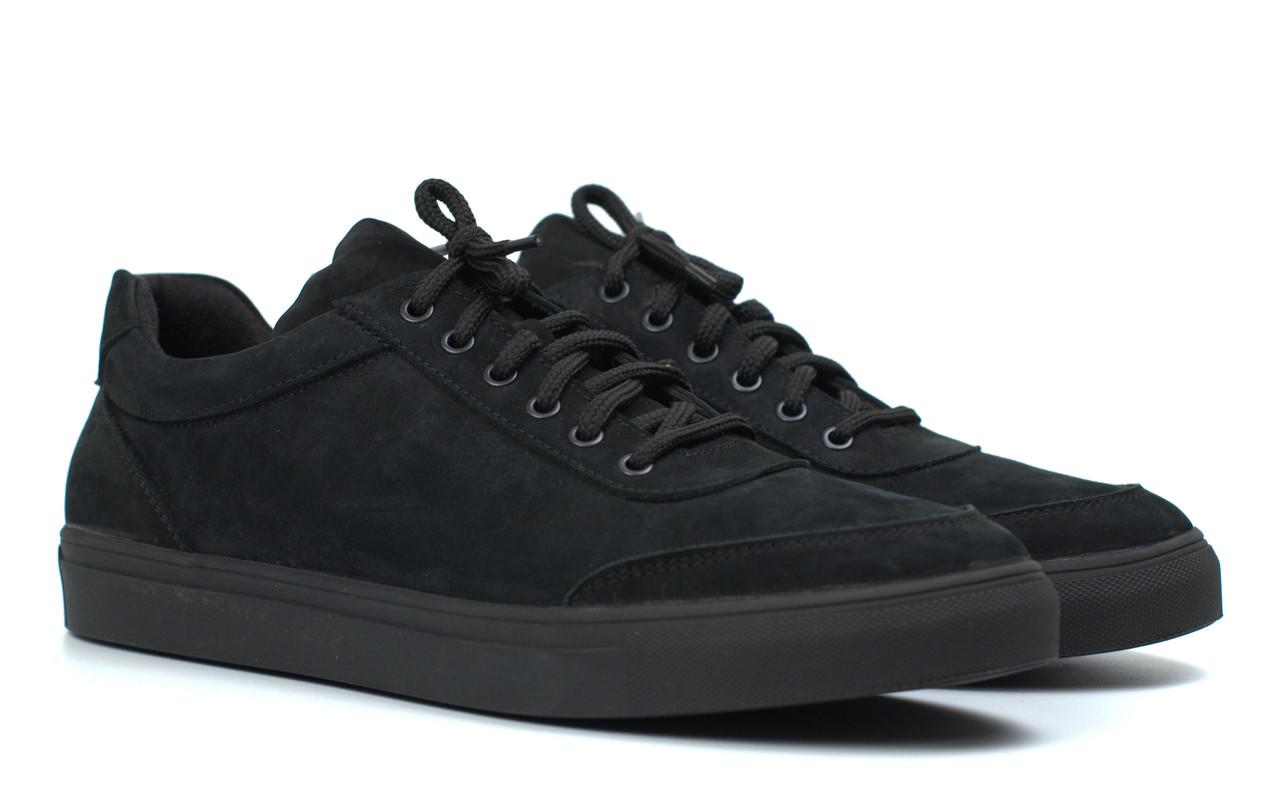 Кроссовки мужские из нубука демисезонная обувь Rosso Avangard Ada Black Nub TPR