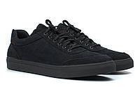 Кроссовки мужские из нубука демисезонная обувь Rosso Avangard Ada Black Nub TPR, фото 1