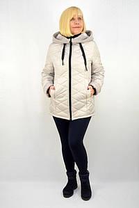 """Куртка """"Мерси"""" крем - Модель Х21-2"""