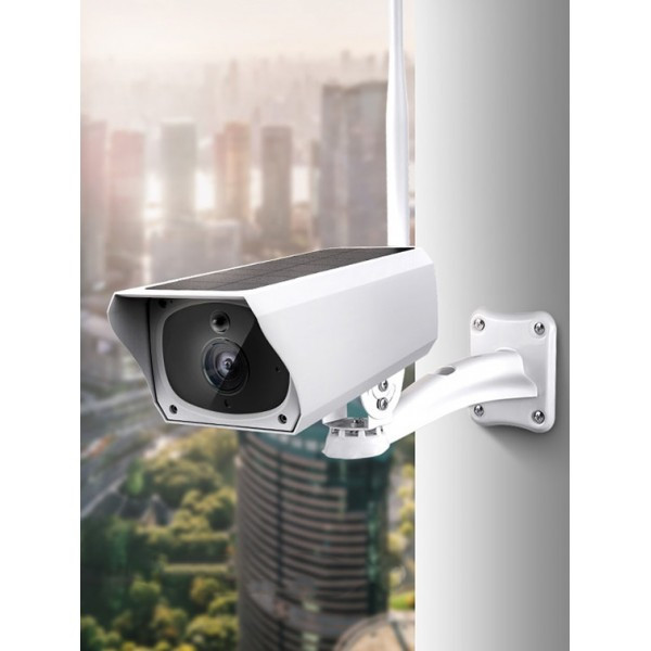 Аккумуляторная IP камера видеонаблюдения CAD F20 2 mp с солнечной панелью