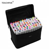Маркеры TOUCH FIVE 80 шт, Animation, фломастеры TouchFive скетчинг, hs00025