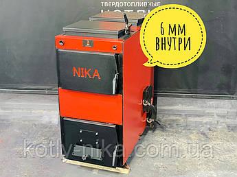Котел Пітон Універсальний 12 кВт МЕТАЛ 6 мм