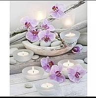 """Набір алмазної вишивки """"ніжні орхідеї"""", фото 1"""