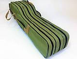 Чехол для удилищ полужесткий 150 см на 2 секции, фото 2