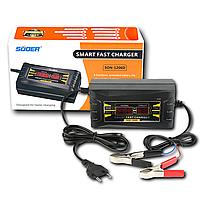 Зарядное устройство для автомобильного аккумулятора 6А SUOER SON 1206D