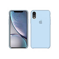 Чехол (Silicone Case) для iPhone XR Sky Blue