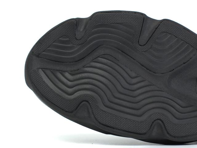 Мужские летние кроссовки черные кожаные кеды обувь больших размеров Rosso Avangard Ada PerfLeath BS