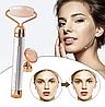Роликовый кварцевый массажер для лица | Электрический вибрационный ролик FLAWLESS CONTOUR, фото 4