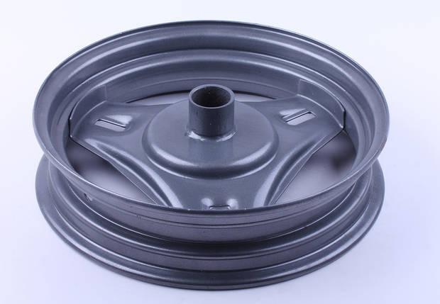 Диск передній сталевий, барабанні гальма - Suzuki 50, фото 2