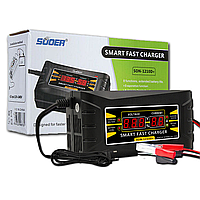 Зарядное устройство для автомобильного аккумулятора 10А SUOER SON 1210D+