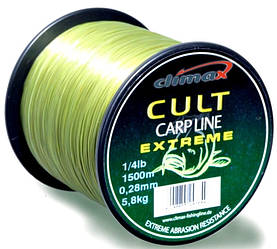 Волосінь Climax Cult Carp Extreme 0.40 11.2 кг 700m