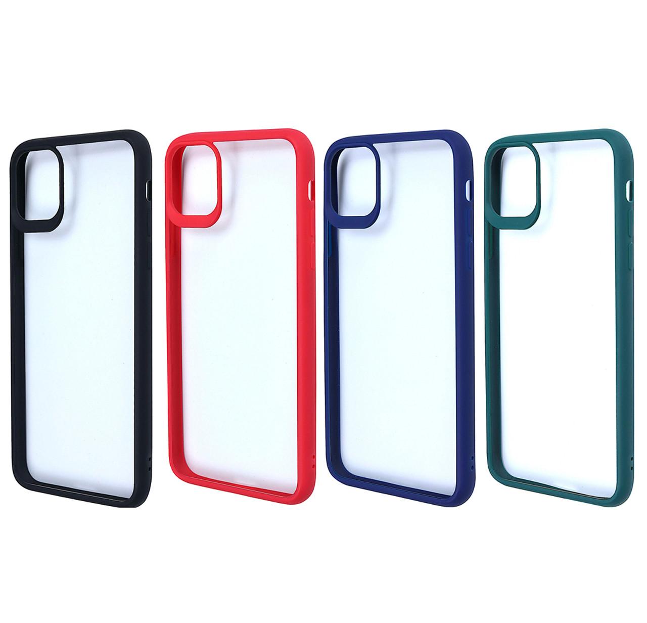 Чехол-накладка TPU+PC Colored Edge Case для IPhone 11 Pro