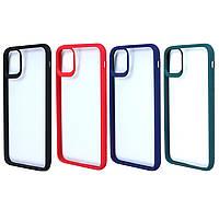 Чехол-накладка TPU+PC Colored Edge Case для IPhone 11 Pro, фото 1